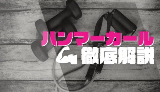 【筋トレ】正しいハンマーカールのやり方を徹底解説